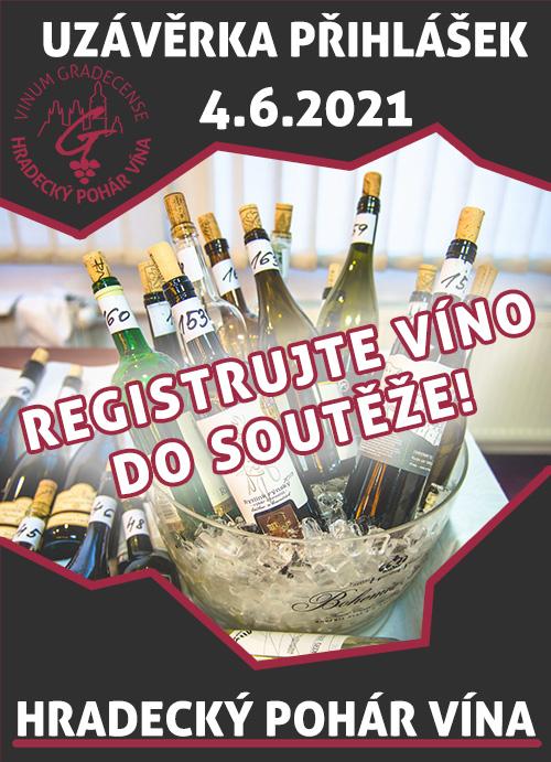 Registrujte víno do soutěže!